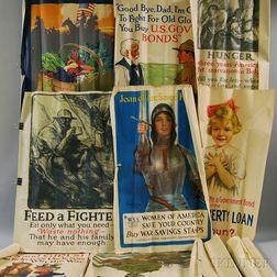 Eleven WWI Era Lithograph Posters