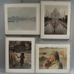 Four Framed Chromogenic Photograph Prints