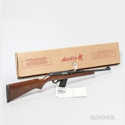 Marlin Model 9 Camp Carbine Semi-automatic Rifle
