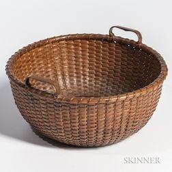 Handled Nantucket Basket