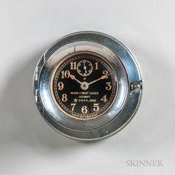 U.S. Navy Mark 1 Chelsea Boat Clock