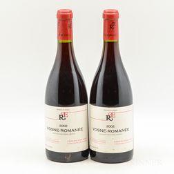 Rene Engel Vosne Romanee 2002, 2 bottles