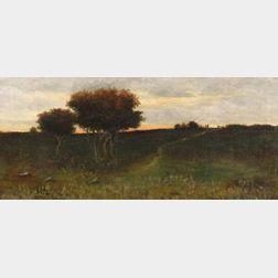 Arthur Hoeber (American, 1854-1915)    Sunrise