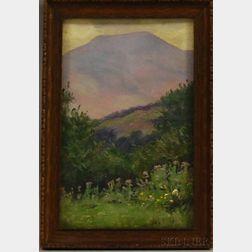 Daniel François Santry (American, 1858-1915)      Mount Lafayette, Franconia, New Hampshire