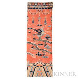 Chinese Pillar Rug