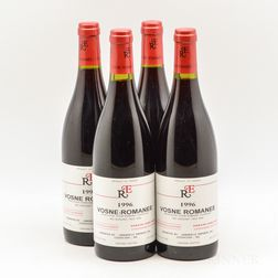 Rene Engel Vosne Romanee 1996, 4 bottles