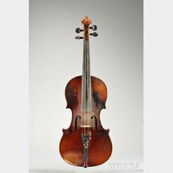 Markneukirchen Violin, Ernst Heinrich Roth, c. 1928