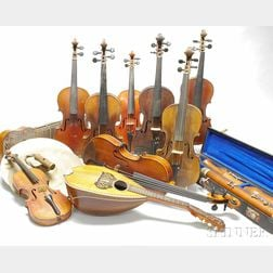 Group of Assorted Musical Instruments