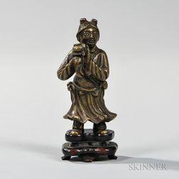 Bronze Figure of an Attendant