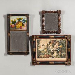 Three Split-baluster Framed Items