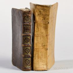 Two Canon 17th Century Law Books.