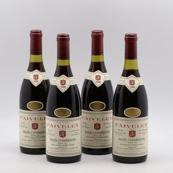 Faiveley Mazis Chambertin 1988, 4 bottles