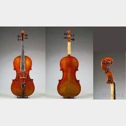 Neapolitan Violin, Gagliano Family, c. 1750