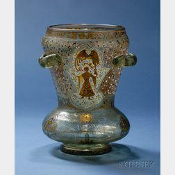 Large Emile Galle Islamic Style Vase