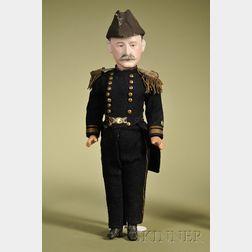Admiral Portrait Doll
