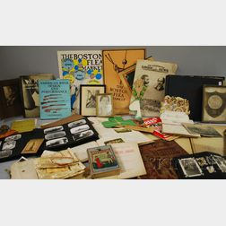 Lot of 19th and 20th Century Ephemera and Collectibles