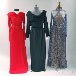 Three Lady's Evening Gowns