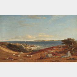 Robert Swain Gifford (American, 1840-1905)      Scene at Naushon