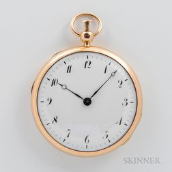 18kt Gold Quarter-repeating Open-face Watch