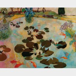 Christiane Kubrick (German/British, b. 1932)      Lily Pond