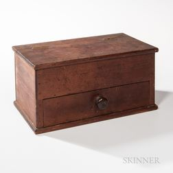 Shaker Sister's Sewing Box with Drawer