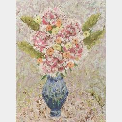 Rifka Angel (Russian/American, b. 1899)  Pink Carnations...