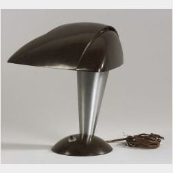 Walter Doren Teaque Polaroid Desk Lamp
