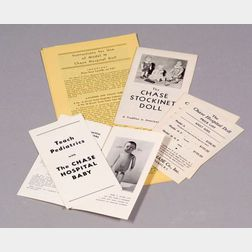 Assortment of MJ Chase Co. Brochures and Paperwork