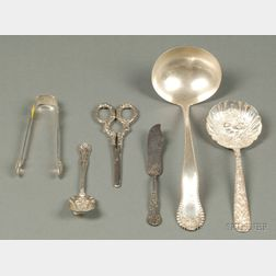 Four Sterling Flatware Items