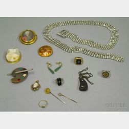 Eclectic Group of Estate and Costume Jewelry