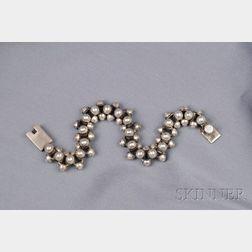 Mexican Sterling Silver Bracelet
