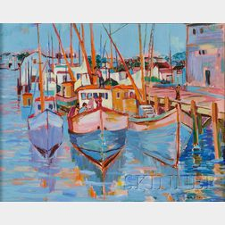 Geraldine Riley Douglas Goldman (American, 20th/21st Century)      Provincetown