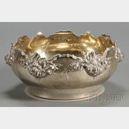 American Art Nouveau Sterling Bowl