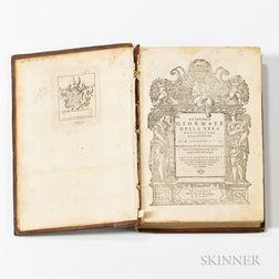 Gallo, Agostino (1499-1570) Le Tredici Giornate della Vera Agricoltura & de Piaceri della Villa