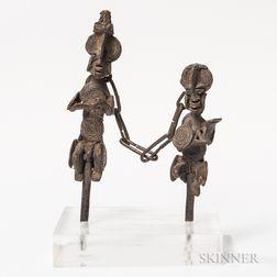 Pair of Ogboni Figures