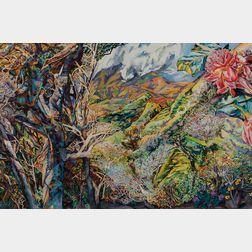 Patricia Tobacco Forrester (American, 1940-2011)      Mountain Farm