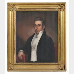 Zedekiah Belknap (Massachusetts, Connecticut, New Hampshire, 1781-1858)      Portrait of Samuel Joseph Claghorn (1787-1840)
