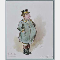 Minton, Hollins & Co. Fat Boy   Plaque