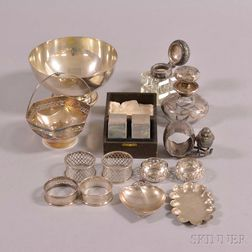 Group of Assorted Sterling Silver Hollowware