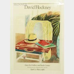 Two Framed David Hockney Posters