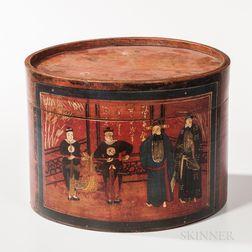 Asian Lacquerware Box