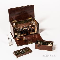 Header & Riches Apothecary or Medicine Traveling Chest