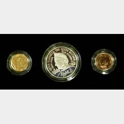 2000 United Kingdom Jersey Gold Proof Sovereign Two Coin Set