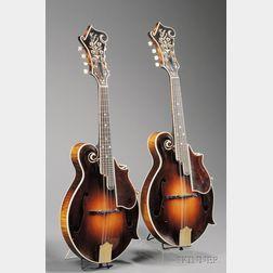 Pair of American Mandolins, Gibson Mandolin-Guitar Company, Kalamazoo, 1926