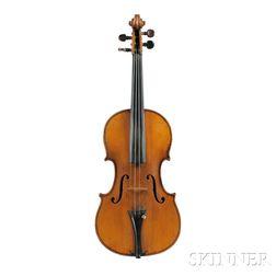 French Violin, Audinot Workshop, Paris, 1893