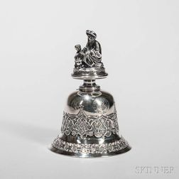 French .800 Silver Bell