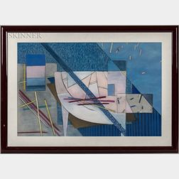 KC Joyce (American, b. 1947)      Geometric Abstract