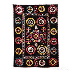 Silk Suzani Embroidery