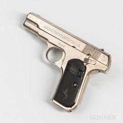 Colt Model 1908 Hammerless Semiautomatic Pistol