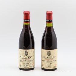 Comte Georges de Vogue Musigny Vieilles Vignes 1986, 2 bottles